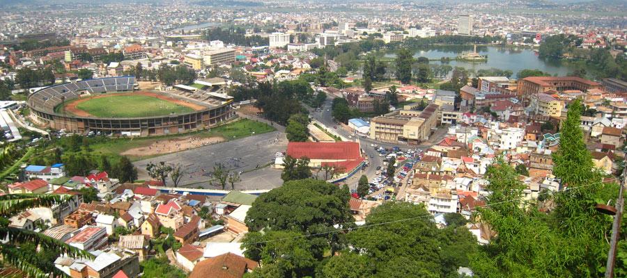 la ville Antananarivo,
