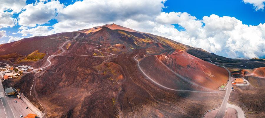 Volcan Etna en Sicile